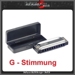 BJH-B20 C Blues Harp in G Dur, Mundharmonika von Stagg
