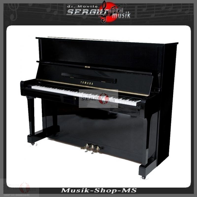 klavier piano yamaha schwarz hochglanz gebraucht online kaufen preis g nstig musikinstrumente. Black Bedroom Furniture Sets. Home Design Ideas