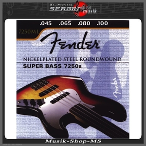 Saiten für Electric Bass Super Bass Nickelplated Steel - Round Wound. Long Scale Satz 4-string